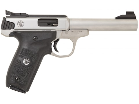 """Smith & Wesson SW22 Victory Target 22 Long Rifle Semi-Automatic Pistol 5.5"""" Barrel 10-R..."""