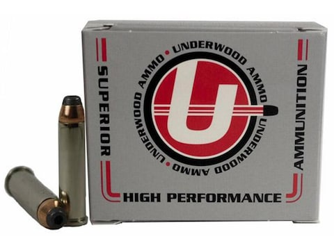 Underwood Ammunition 357 Magnum 158 Grain Jacketed Hollow Point Box of 20