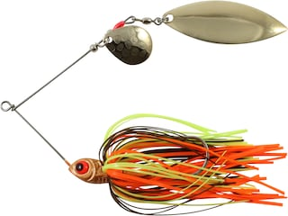 Northland Reed-Runner Classic Tandem Spinnerbait 1/4oz Crawfish Nickel
