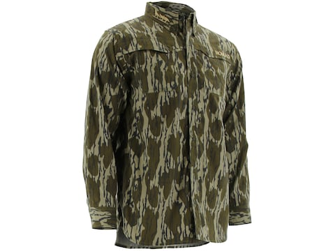 Nomad Men's NWTF Woven Button-Up Long Sleeve Shirt Polyester/Cotton