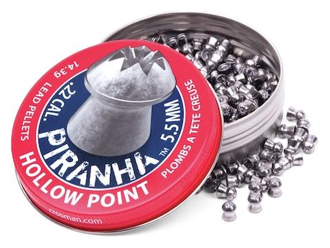 Crosman Piranha Premier Pellets Hollowpoint Tin of 400