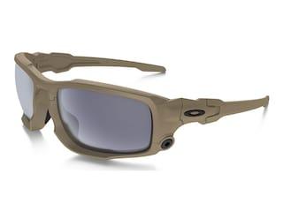 Oakley SI Ballistic Shocktube Sunglasses Terrain Tan Frame/Gray Lens