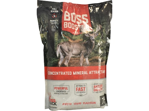 Boss Buck Boss Booster Concentrated Mineral Attractant 7 lb
