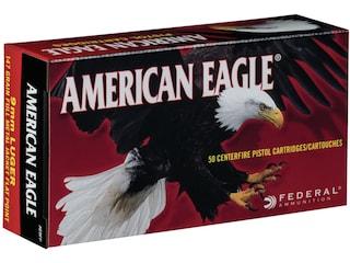 Federal American Eagle Ammunition 9mm Luger 147 Grain Full Metal Jacket Box of 50
