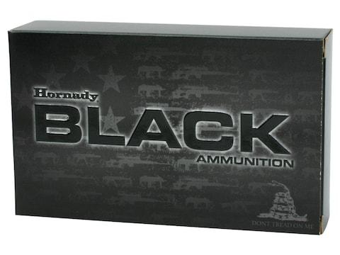 Hornady BLACK Ammunition 308 Winchester 155 Grain A-MAX Box of 20