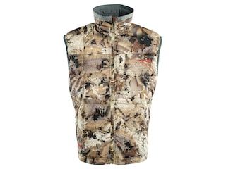 Sitka Gear Men's Fahrenheit Insulated Vest Polyester Gore Optifade Waterfowl Marsh Camo Medium