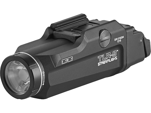 Streamlight TLR-9 Flex Weapon Light LED with 2 CR123A Batteries Aluminum Black