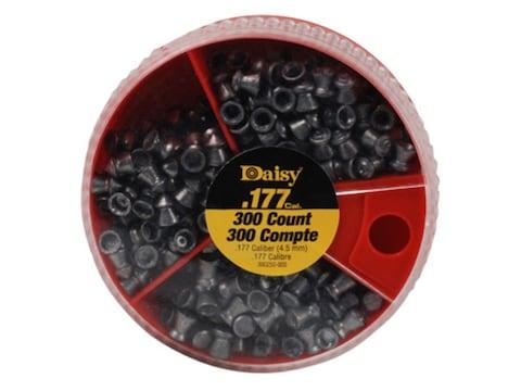 Daisy Dial a Pellet Air Gun Pellets 177 Caliber 7.29 Grain (100 Flat, 100 Pointed and 1...