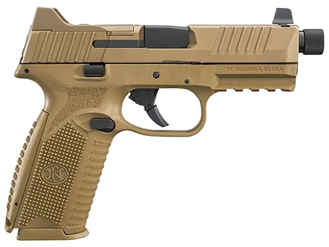"FN 509 Tactical Pistol 9mm Luger 4.5"" Threaded Barrel, Polymer Night Sights"