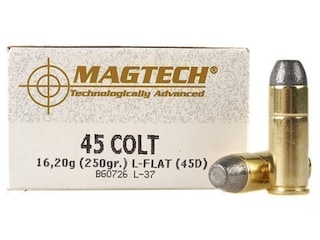 45 Colt Ammo or Long Colt for the Famous Colt Peacemaker
