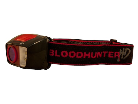 Primos Bloodhunter HD Blood Tracking Headlamp LED with 3 AAA Batteries Polymer Black an...