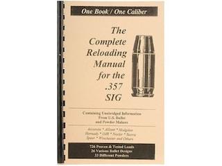 Loadbooks USA 357 Sig Reloading Manual