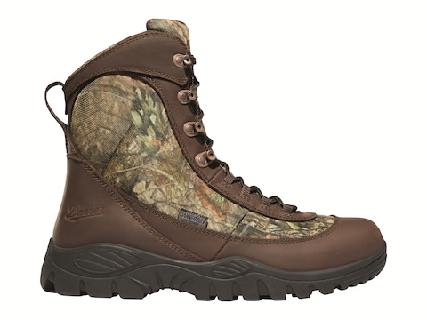 """Danner Element 8"""" Insulated Hunting Boots Full-Grain Leather Men's"""