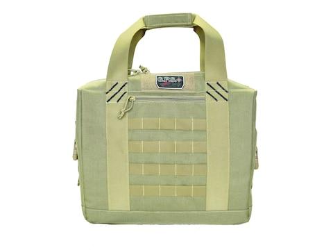 G.P.S. Tactical Cooler With Handgun Storage Nylon Tan
