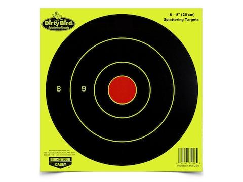 Birchwood Casey Dirty Bird Yellow Bullseye Targets