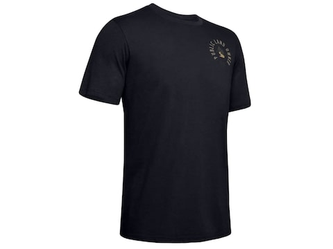 Under Armour UA Public Land Owner Short Sleeve T-Shirt Cotton/Poly