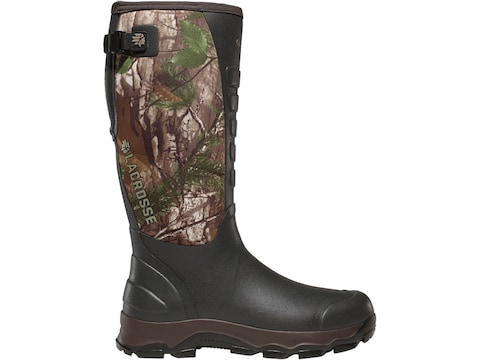 """LaCrosse 3.5mm 4XAlpha 16"""" Hunting Boots Hand-Laid Premium Rubber Over Neoprene Realtre..."""