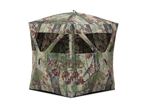 "Barronett Radar Ground Blind 55"" x 55"" x 67"" Polyester Backwoods Camo"