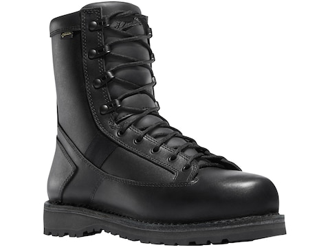 "Danner Stalwart 8"" GORE-TEX Side-Zip Tactical Boots Leather/Nylon Black Men's"