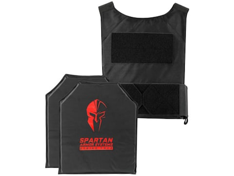 Spartan Armor Spartan DL Concealment Plate Carrier with Flex Fused Core IIIA Soft Body ...