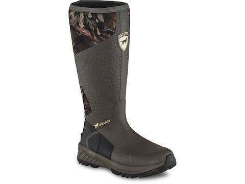 """Irish Setter Mudtrek 17"""" Hunting Boots Rubber/Neoprene Athletic Fit Men's"""