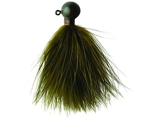 Eagle Claw Marabou Crappie Jig Olive 1/4 oz