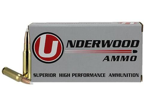 Underwood Ammunition 308 Winchester 165 Grain Nosler AccuBond Box of 20