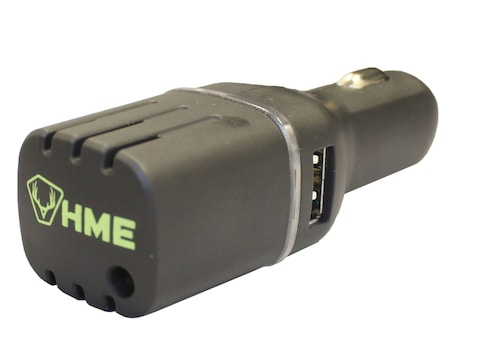HME Vehicle Ozone Scent Elimination Device with Dual USB