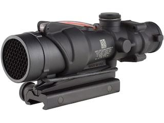 Trijicon ACOG TA31RCO BAC Rifle Scope 4x 32mm A4 Military Version Dual-Illuminated Red Chevron 223 RemingtonReticle with TA51 Flattop Mount Matte