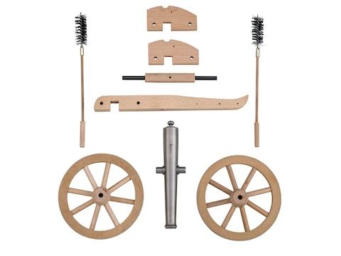 "Traditions Mini Napoleon III Black Powder Cannon Kit 50 Caliber 7.25"" Steel Barrel Hard..."