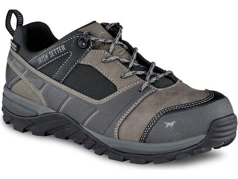 "Irish Setter Rockford 4"" Oxford Non-Metallic Safety Toe Work Shoes Leather/Nylon Men's"