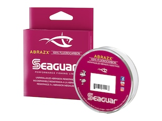 Seaguar AbrazX Fluorocarbon Fishing Line 10lb 1000yd Clear