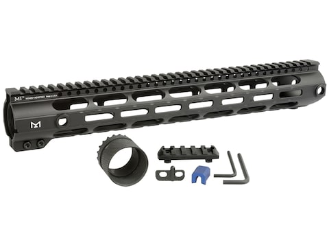 Midwest Industries 308 Combat Rail M-Lok Handguard Low Profile LR-308 Aluminum Black