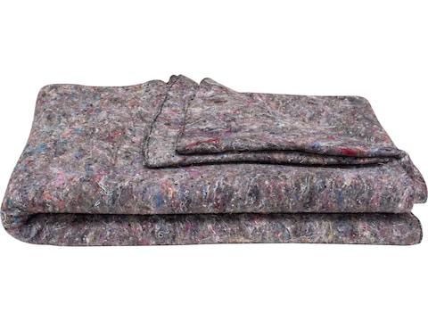 Military Surplus Belgian Disaster Blanket Grade 2 Wool Blend Gray