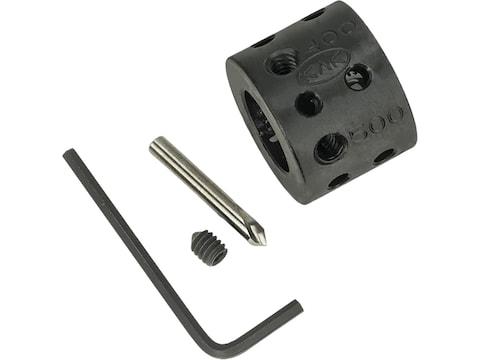 """KAK Multi Position Barrel Dimple Drilling Jig .750"""" AR-15, LR-308 Steel Matte"""