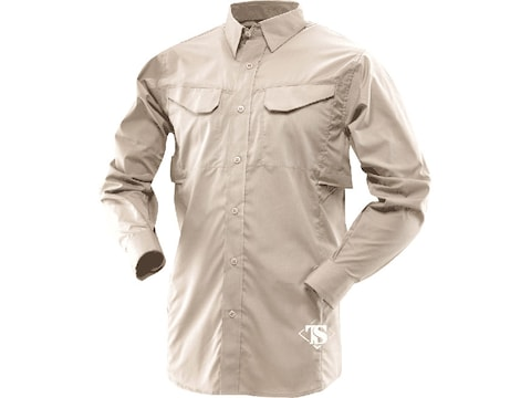 Tru-Spec Men's 24-7 Ultralight Field Long Sleeve Shirt Polyester Cotton Ripstop