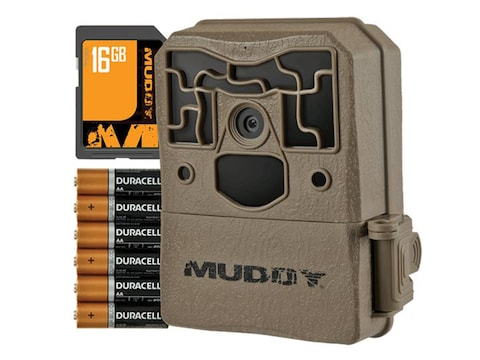 Muddy Outdoors Pro Cam Trail Camera 18 MP Combo