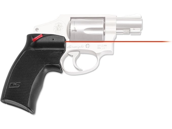 Crimson Trace Defender Series Accu-Grips Laser S&W J-Frame and Taurus Small  Frame Polymer Black
