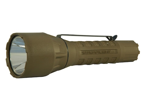 Streamlight PolyTac LED HP Flashlight LED with 2 CR123A Batteries Polymer