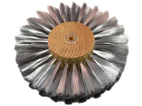 "Grobet 6"" Diameter 4 Row Brushing Wheel .003 Stainless Steel"