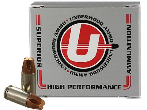 Underwood Ammunition 9mm Luger 115 Grain Lehigh Xtreme Penetrator Lead Free Box of 20