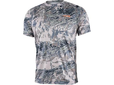 Sitka Gear Men's Core Lightweight Crew Short Sleeve Shirt Polyester