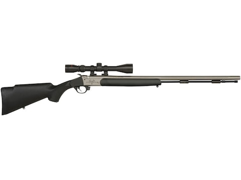 """Traditions Pursuit G4 Muzzleloading Rifle with 3-9x 40mm Duplex Scope 50 Caliber 26"""" Ce..."""