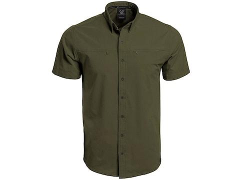 Vortex Optics Men's Tactical Button Down Short Sleeve Shirt Cotton/Poly