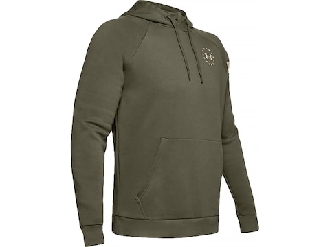 Under Armour Men's UA Freedom Flag Rival Hoodie Polyester