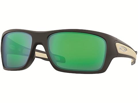 Oakley Turbine Sunglasses Matte Black Frame/Jade Iridium Lens
