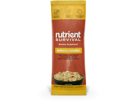 Nutrient Survival Homestyle Scramble Freeze Dried Food