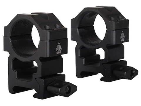 """Leapers UTG 1"""" Max Strength Tactical 4-Hole Quick Detachable Twist Lock Picatinny-Style..."""