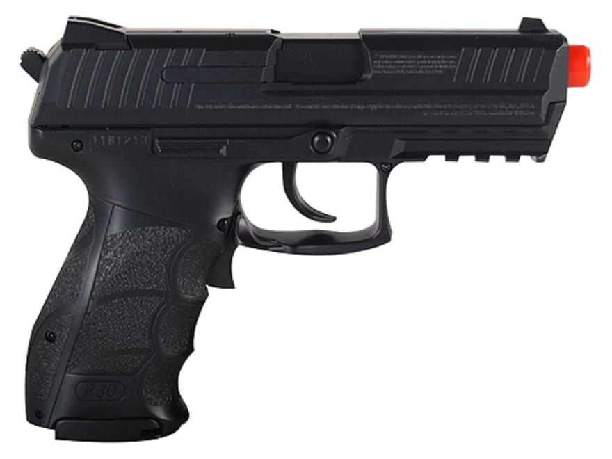hk p30 airsoft pistol 6mm bb electric select polymer
