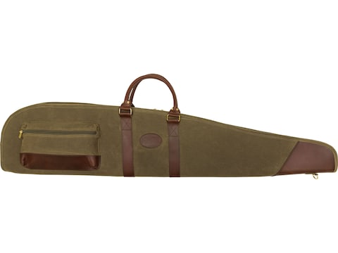 MidwayUSA Waxed Canvas Scoped Rifle Case